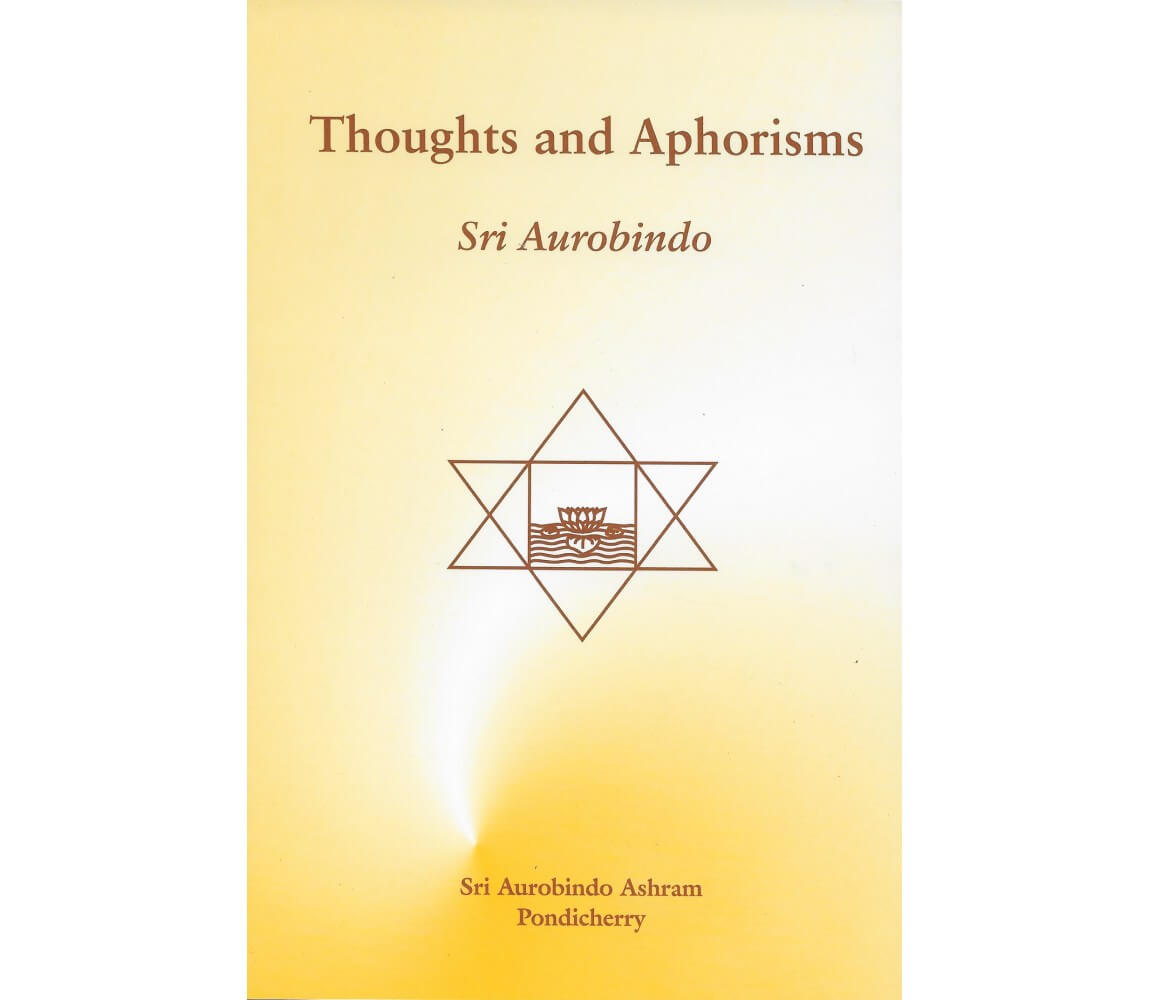 """""""Aphoristic thinking is impatient thinking."""""""